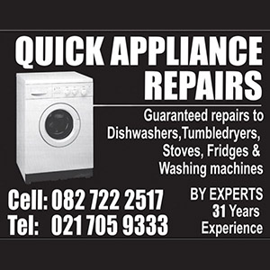 Quick Appliance Repairs