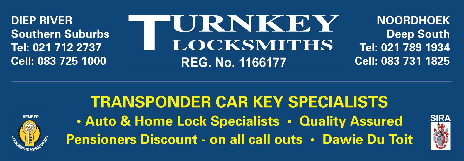 Turnkey Mobile Locksmiths