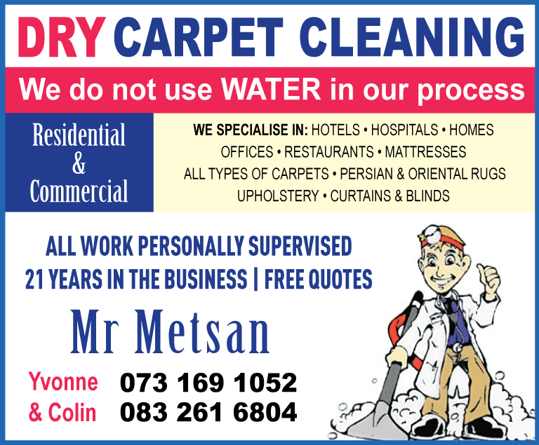 Mr Metsan – Dry Carpet Cleaning