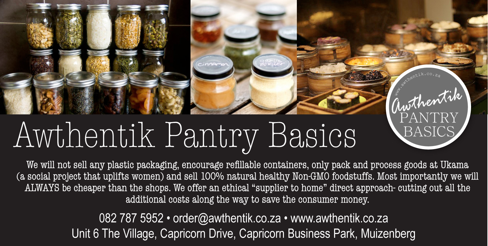 Awthentik Pantry Basics