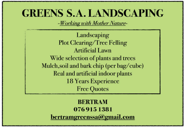 Greens S.A. Landscaping