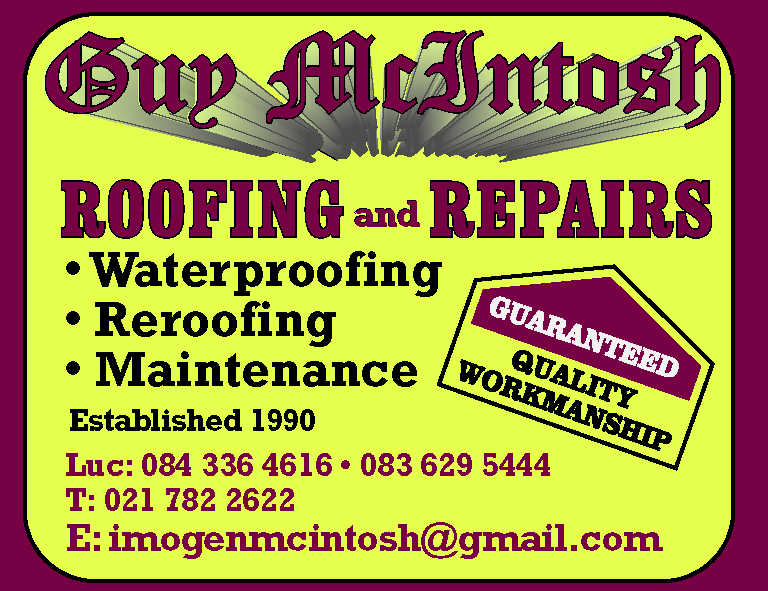Guy McIntosh Roofing & Repairs