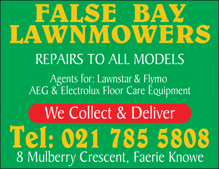 False Bay Lawnmowers