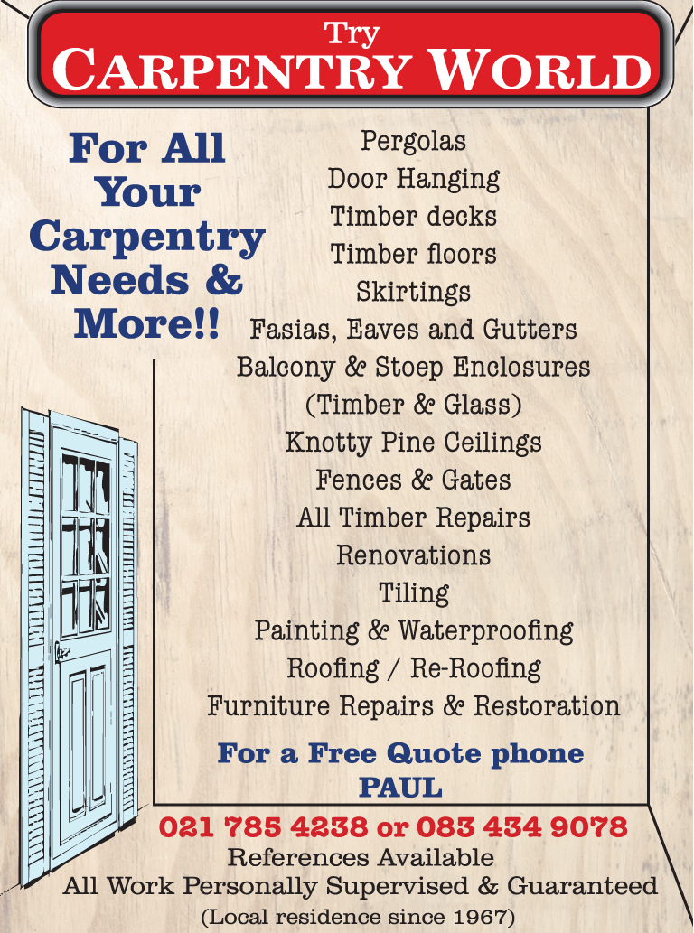 Carpentry World