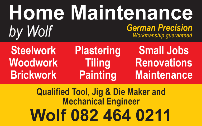 Home Maintenance by Wolf